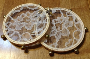Solstice Lace Tambourines