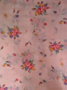 vintage multi floral pink